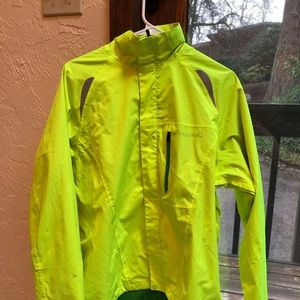 Neon Endura raincoat